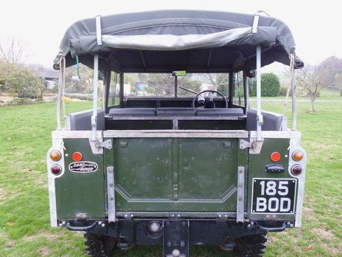 1959 Series 2 Landrover convertible SOLD (picture 3 of 6)