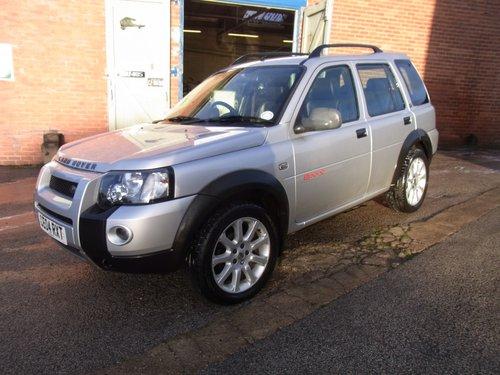 2004 Land Rover freelander V6 Sport Auto 5 Door For Sale (picture 3 of 6)