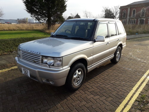 RANGE ROVER P38 2000 MODEL  FROM JAPAN – ONLY 62000 For Sale (picture 1 of 6)