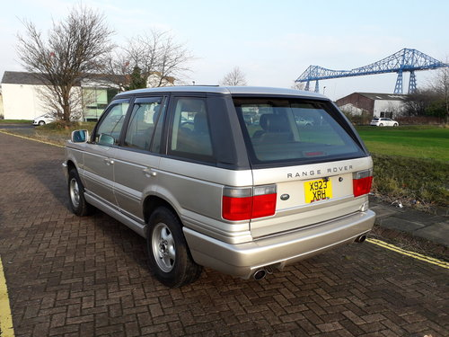 RANGE ROVER P38 2000 MODEL  FROM JAPAN – ONLY 62000 For Sale (picture 3 of 6)