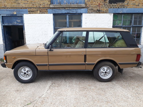 1984 Range Rover MK1 2 Door For Sale (picture 2 of 6)