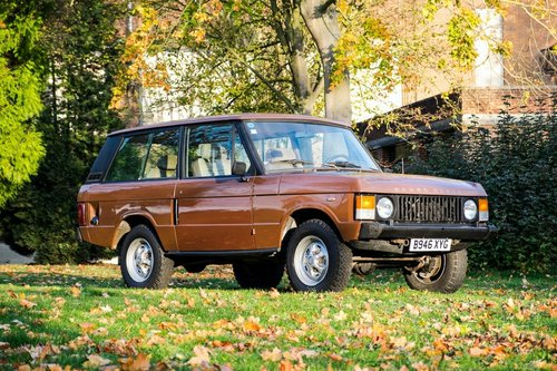 1984 Land Rover Range Rover Classic. 3.5 Litre 5 Speed Manua SOLD (picture 1 of 6)