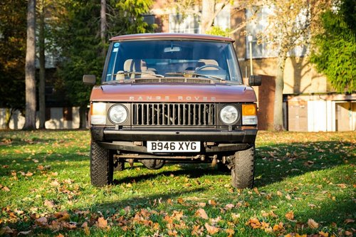 1984 Land Rover Range Rover Classic. 3.5 Litre 5 Speed Manua SOLD (picture 2 of 6)
