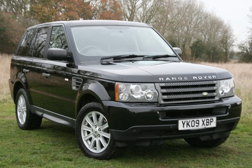 2009 Range Rover Sport 2.7 TDV6 S Auto For Sale (picture 1 of 6)