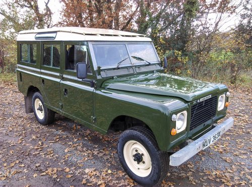 1981 Land Rover 109 Stage 1 V8 SOLD (picture 1 of 6)