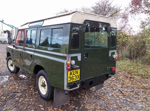 1981 Land Rover 109 Stage 1 V8 SOLD (picture 2 of 6)
