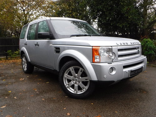 Land Rover Discovery 3 2.7 TD V6 HSE 5dr 2008 (08 reg), SUV  For Sale (picture 1 of 4)
