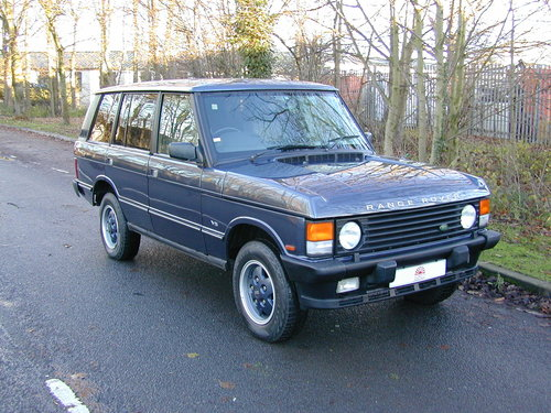 1994 RANGE ROVER CLASSIC 4.2 LSE SOFT DASH RHD COLLECTOR QUALITY! For Sale (picture 1 of 6)