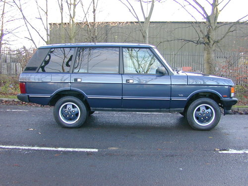1994 RANGE ROVER CLASSIC 4.2 LSE SOFT DASH RHD COLLECTOR QUALITY! For Sale (picture 2 of 6)
