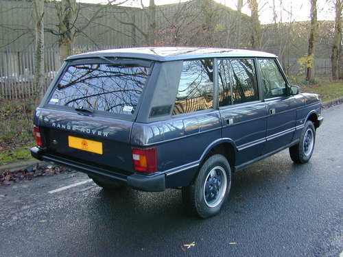 1994 RANGE ROVER CLASSIC 4.2 LSE SOFT DASH RHD COLLECTOR QUALITY! For Sale (picture 3 of 6)