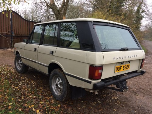1981 Range Rover Classic, early four door. For Sale (picture 2 of 6)