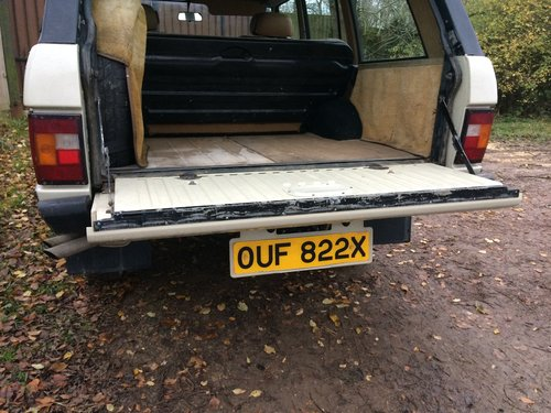 1981 Range Rover Classic, early four door. For Sale (picture 6 of 6)