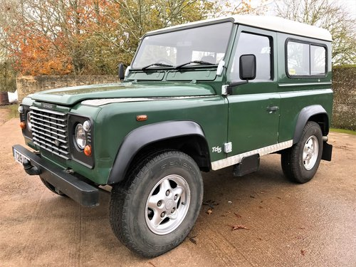 high spec 1999/T Defender 90 TD5 7 seater+12M MOT For Sale (picture 1 of 6)