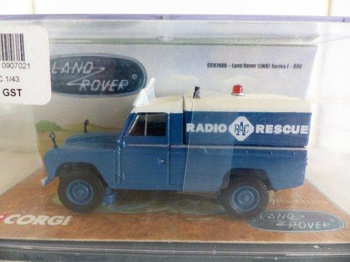 CORGI LAND ROVER RAC RADIO PATROL 1:43 SCALE For Sale (picture 1 of 6)