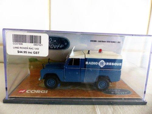 CORGI LAND ROVER RAC RADIO PATROL 1:43 SCALE For Sale (picture 2 of 6)
