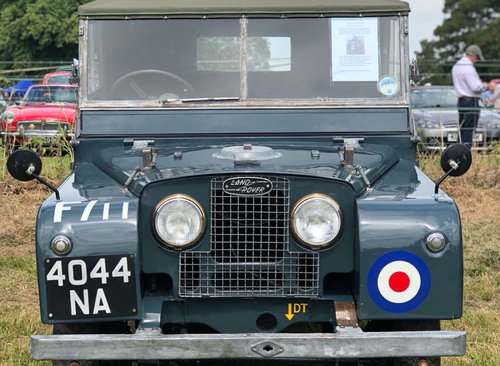 1952 Ex RAF Landrover Series 1 For Sale (picture 1 of 6)