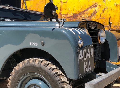 1952 Ex RAF Landrover Series 1 For Sale (picture 2 of 6)