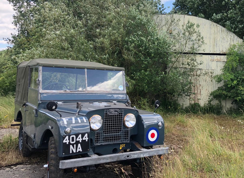 1952 Ex RAF Landrover Series 1 For Sale (picture 3 of 6)
