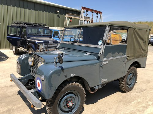 1952 Ex RAF Landrover Series 1 For Sale (picture 5 of 6)