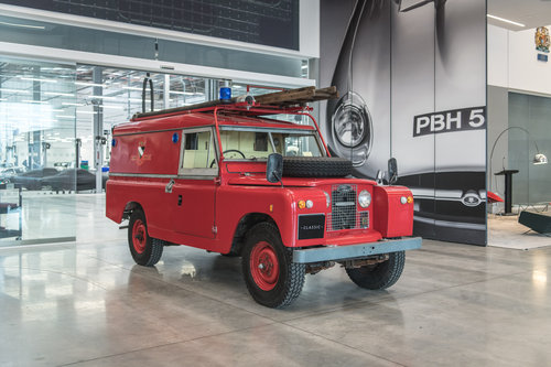1966 Land Rover Series 2A Fire Engine SOLD (picture 1 of 6)