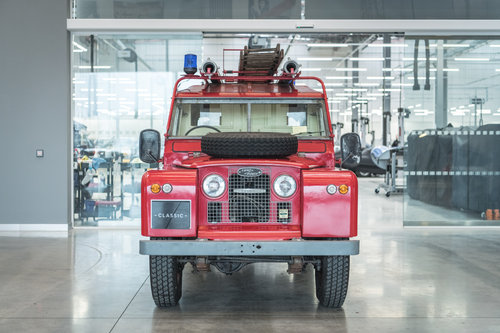 1966 Land Rover Series 2A Fire Engine SOLD (picture 2 of 6)