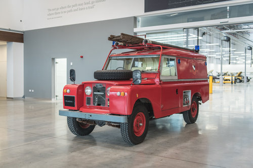 1966 Land Rover Series 2A Fire Engine SOLD (picture 3 of 6)