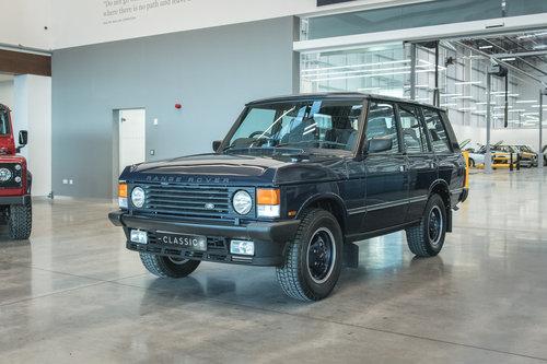 1990 Range Rover Classic 4 Door For Sale (picture 3 of 6)