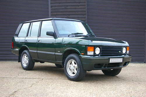 1995 Land Rover Range Rover CLASSIC 3.9i V8 SWB (71,661 miles) SOLD (picture 1 of 6)