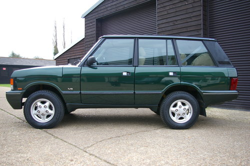 1995 Land Rover Range Rover CLASSIC 3.9i V8 SWB (71,661 miles) SOLD (picture 2 of 6)