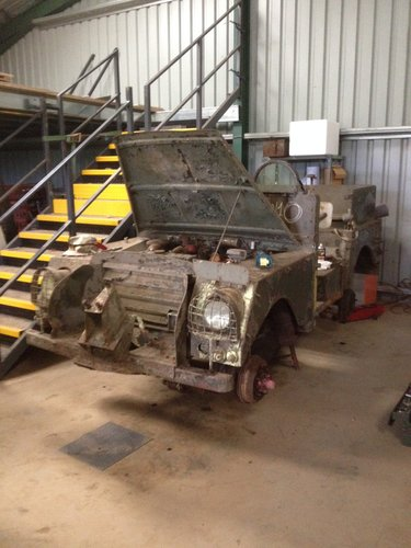 1953 Armoured Belgian sas / commando land rover SOLD (picture 3 of 6)