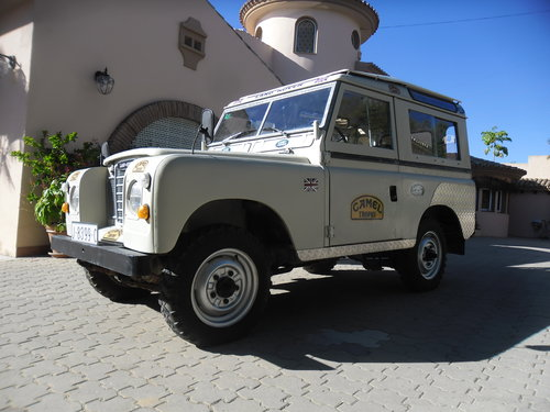 Classic Land Rover 88 Diesel Series III  4x4   1977 For Sale (picture 6 of 6)