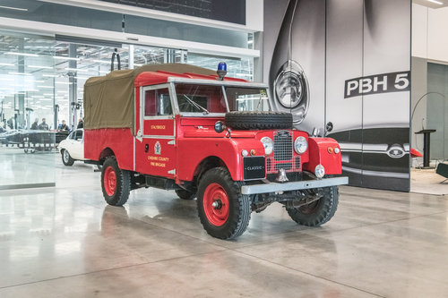 1957 Land Rover Series 1 Fire Engine  SOLD (picture 1 of 6)