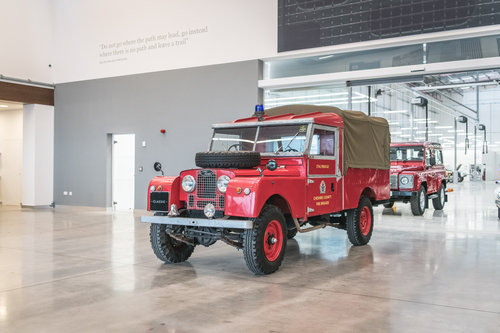 1957 Land Rover Series 1 Fire Engine  SOLD (picture 3 of 6)