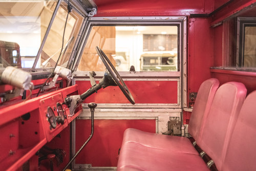 1957 Land Rover Series 1 Fire Engine  SOLD (picture 4 of 6)