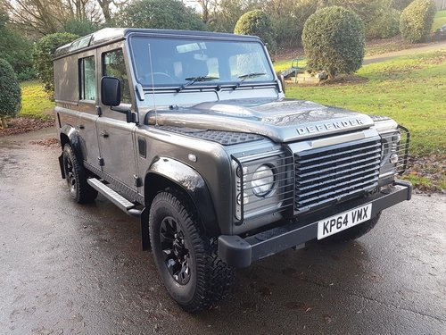 2014 LAND ROVER DEFENDER 110 TDCI UTILITY XS For Sale (picture 1 of 6)