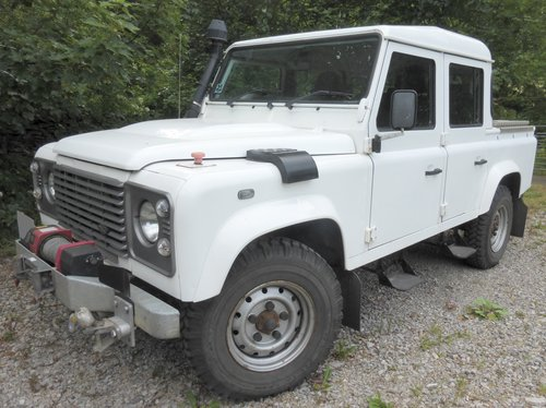 2011 LANDROVER DEFENDER PUMA 110 TDCI DOUBLE CAB COUNTY          For Sale (picture 1 of 6)