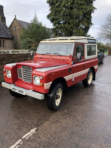 1982 Land rover Series 3 SWB County  SOLD (picture 1 of 6)