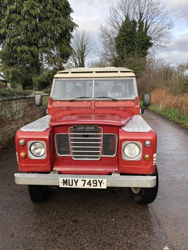 1982 Land rover Series 3 SWB County  SOLD (picture 3 of 6)