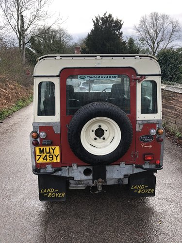1982 Land rover Series 3 SWB County  SOLD (picture 6 of 6)