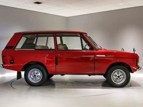 1974 Range Rover 3.5 V8 Suffix C-Low Mileage-Outstanding  For Sale (picture 3 of 6)