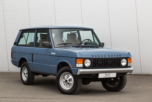 1989 Range Rover Classic 2 Door 2.4 TD Manual (Suffix-A styling) For Sale (picture 1 of 6)