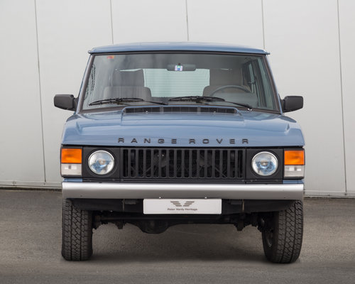 1989 Range Rover Classic 2 Door 2.4 TD Manual (Suffix-A styling) For Sale (picture 5 of 6)