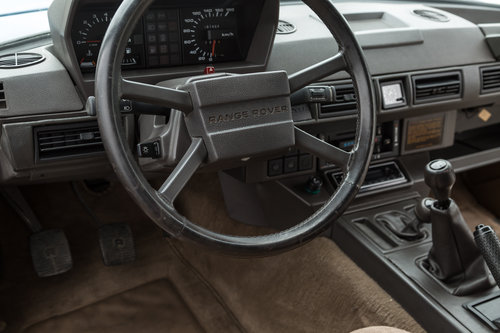 1989 Range Rover Classic 2 Door 2.4 TD Manual (Suffix-A styling) For Sale (picture 6 of 6)