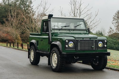 1995 (N) Land Rover Defender Tdi Pick Up-Fantastic Condition For Sale (picture 1 of 6)