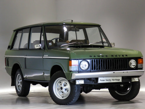 1971 Land Rover Range Rover 3.5 V8 For Sale (picture 1 of 6)