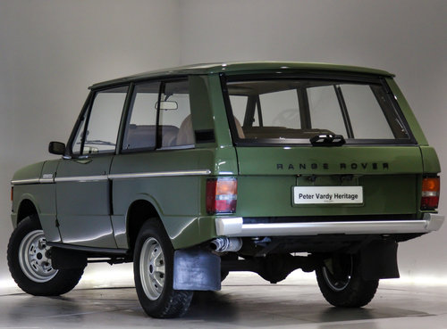1971 Land Rover Range Rover 3.5 V8 For Sale (picture 2 of 6)
