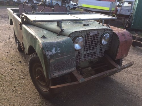 1950 Series 1 80 inch Land Rover for Restoration - Freewheel Box For Sale (picture 1 of 6)