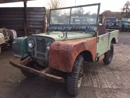 1950 Series 1 80 inch Land Rover for Restoration - Freewheel Box For Sale (picture 2 of 6)