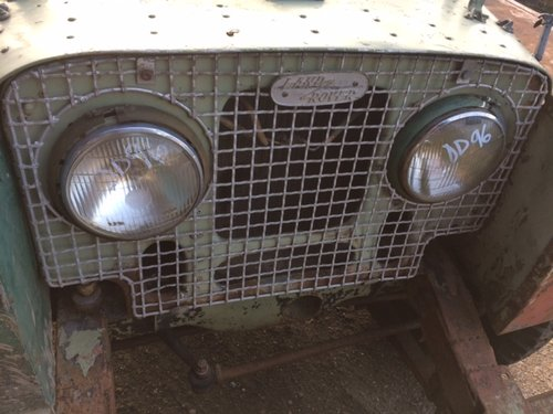1950 Series 1 80 inch Land Rover for Restoration - Freewheel Box For Sale (picture 3 of 6)