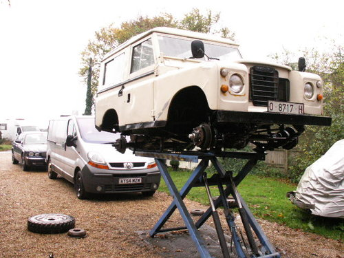 land rover LHD  santana 1975 world export diesel For Sale (picture 2 of 6)